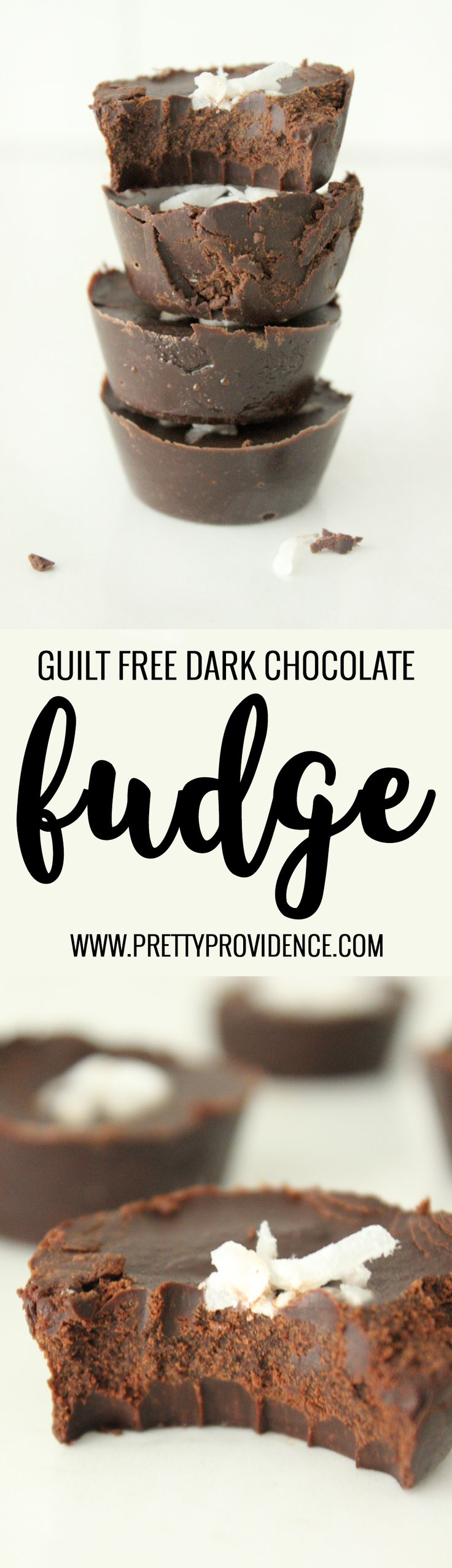 Absolutely amazing guilt free dark chocolate fudge! Can be made vegan, paleo or sugar free! Tastes just like a dark chocolate truffle- perfect melt in your mouth texture! You won't regret trying out this one!