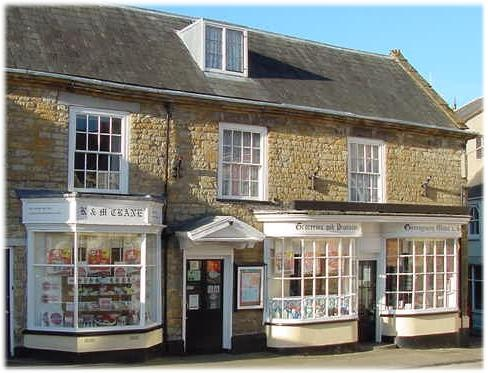 Cranes of Beaminster (now replaced by Co-op, the only non independent in town)   This is Dorset - Directory for Beaminster Dorset