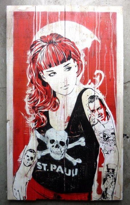 St. Pauli - Graffiti - via http://bit.ly/epinner