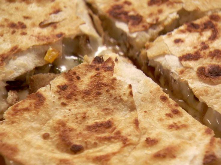 Chicken Quesadillas Recipe : Ree Drummond : Food Network - FoodNetwork.com