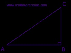 calculate the hypotenuse and angles of any right triangle.
