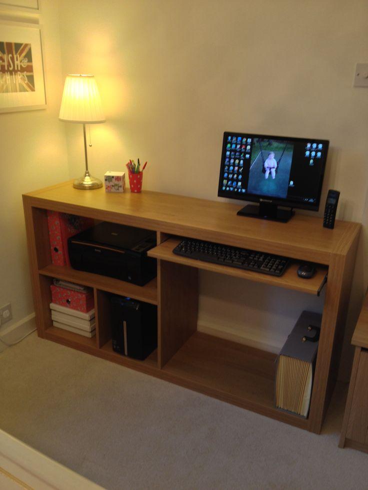 ikea hack desk expedit images galleries with a bite. Black Bedroom Furniture Sets. Home Design Ideas