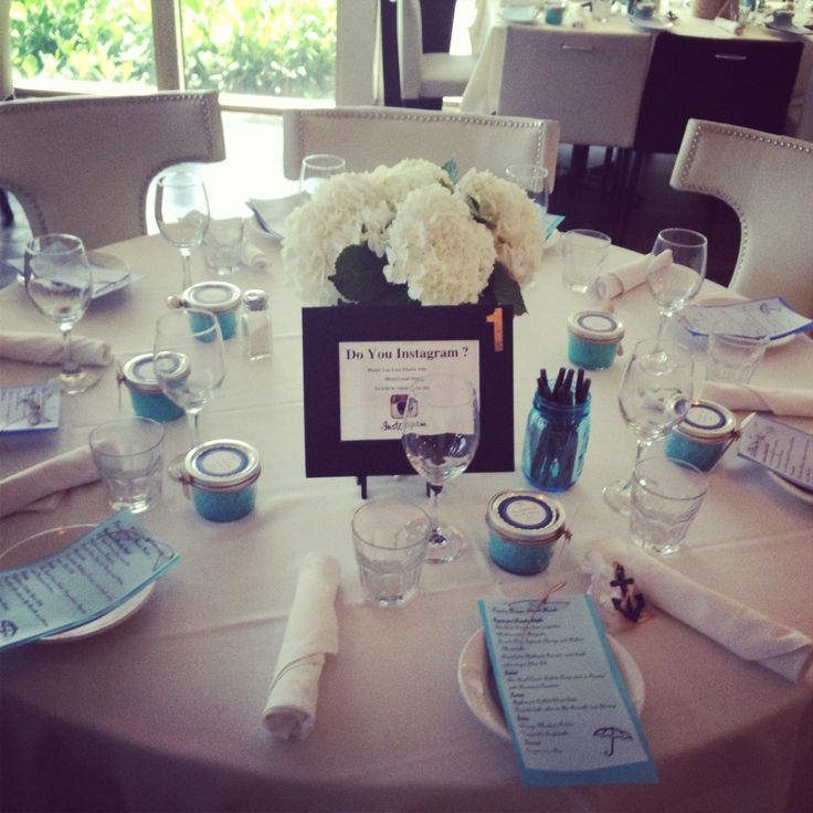 Table Setting For Baby Shower