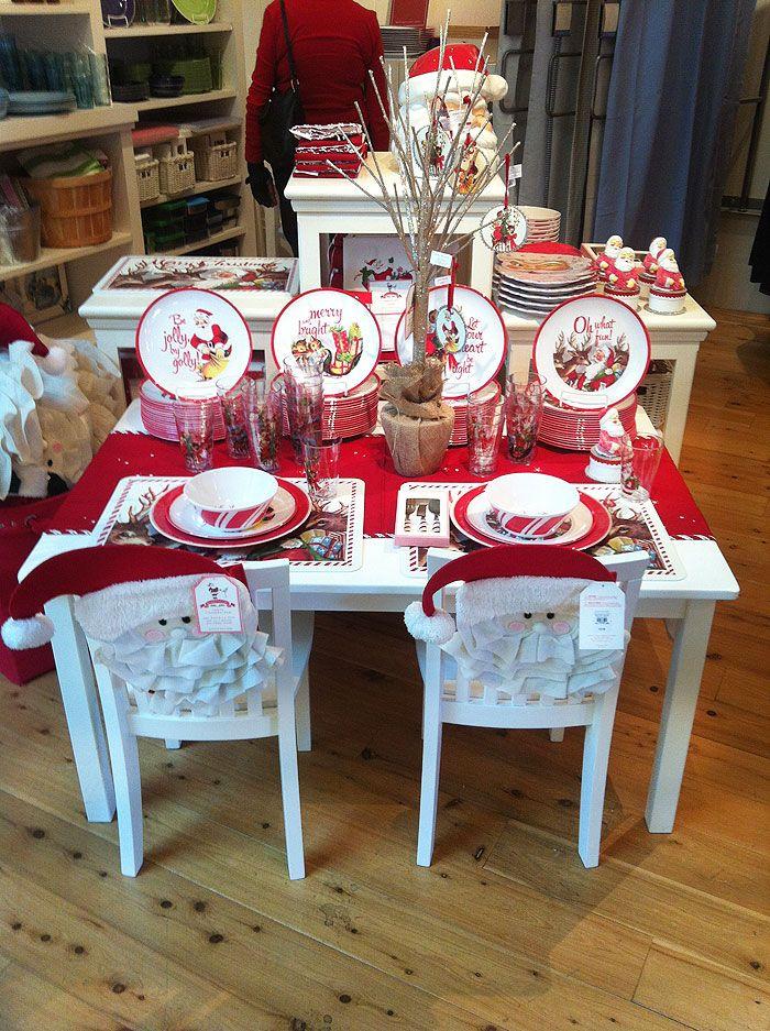Lovely Kids Christmas Table How I Love Pbk Pottery Barn