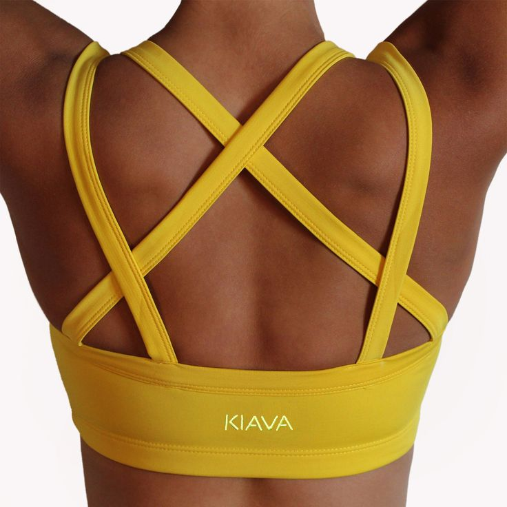 Endurance Bra - Yellow (or any color) size M