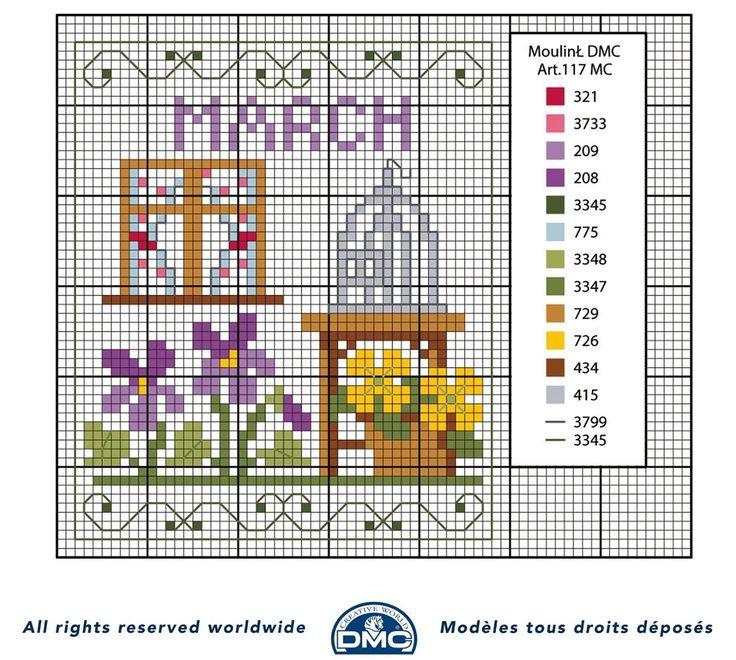 schema+punto+croce+mesi+dell%27anno-+marzo.jpg 1.268×1.138 pixel