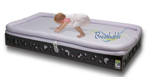Secure Beginnings Heaven Sent Breathable Crib Mattress Base, Contemporary Curves-Espresso, Standard Secure Beginnings  This is a little pricey but worth it to me for the breathable material. It prevents SIDS but also helps prevent overheating since it allows air to circulate underneath. This is great for those kids who always seem to wake up all sweaty.