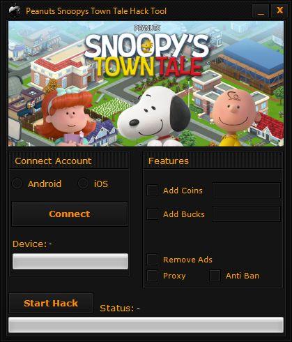Peanuts Snoopys Town Tale Hack Tool