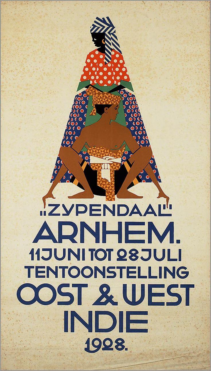 Zypendaal Arnhem. 11 juni tot 28 juli, tentoonstelling Oost & West Indië 1928