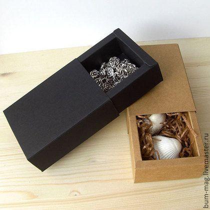 Коробка-пенал с широкими стенками - упаковка,упаковка для подарка,упаковка для мыла