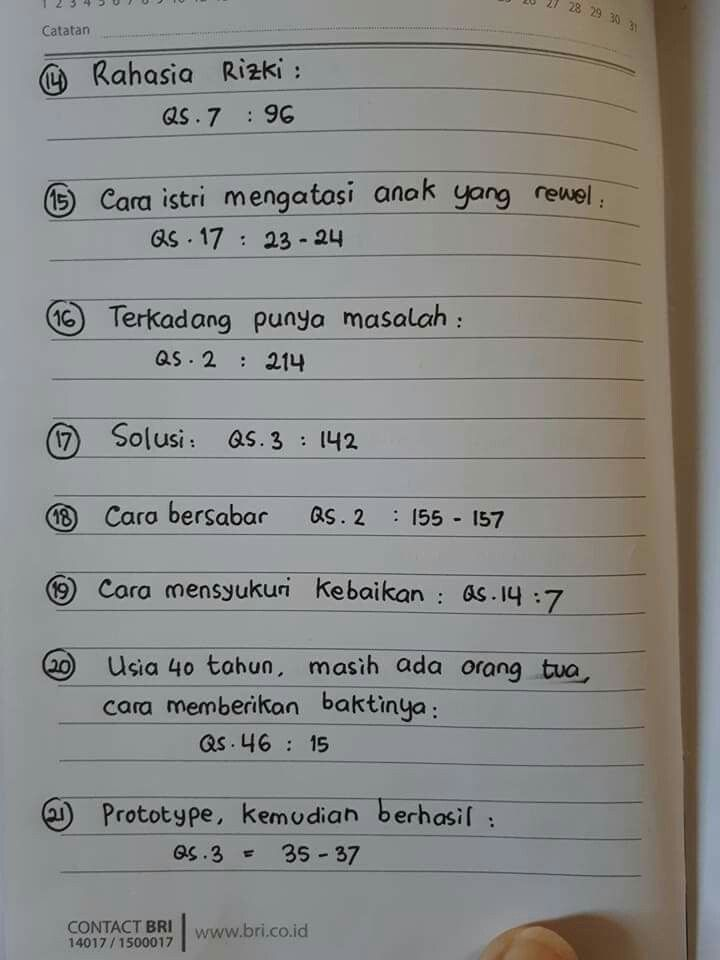 noted,