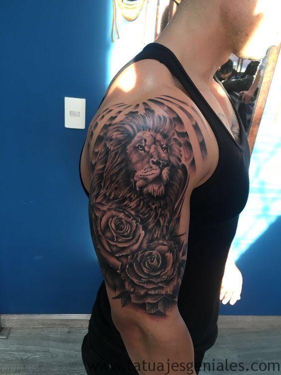 Tatuajes De Flores En El Brazo Para Hombres Inspirador Tatuaje