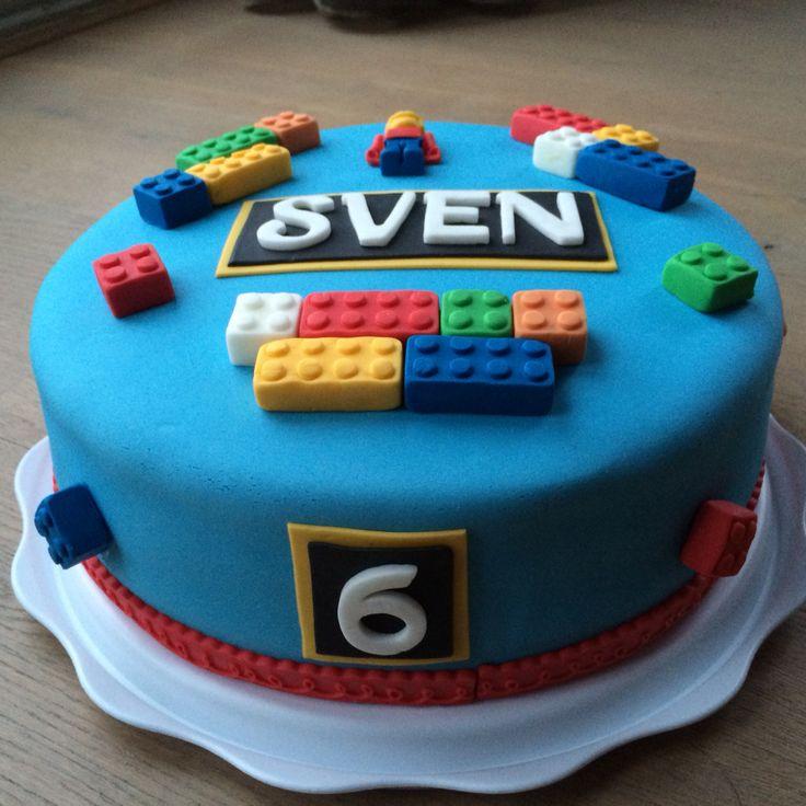 LEGO taart jongen