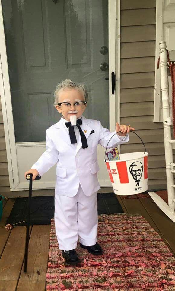 Kids Colonel Sanders Halloween Costume