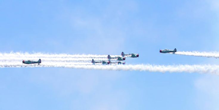 Geico Skytypers  Photograph by Mark Andrew Thomas