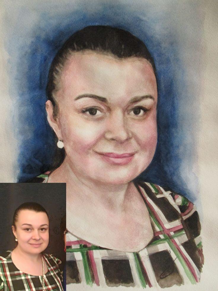 Всю прошлую ночь пыхтела над этой красавицей... В результате, была очень недовольна собой( Ну никак она у меня не получалась... Утром пришлось поправлять.. вот что вышло. Акварель. Формат А3. Заказ в подарок начальнице. Отправляется в Москву. #thewatercolordrawing #drawing #portrait #art #artist #painter #Iamanartist #watercolor #A3 #plistinova #рисунокакварелью #рисунок #портрет #искусство #художник #яхудожник #акварель #плистинова #молодость #девушка #прекрасная #леди #young #girl…