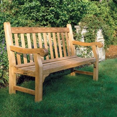 Kingsley Bate Hyde Park 5 Bench Outdoor Furniture