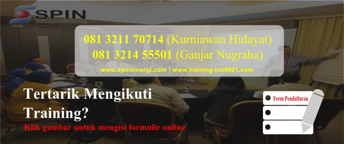 Pelatihan ISO 9001 Sucofindo 2015, Pelatihan Awareness ISO 9001, Pelatihan Audit Internal ISO 9001, Pelatihan Auditor Internal ISO 9001, Materi Pelatihan Auditor ISO 9001