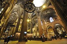 Barcelona Cathedral - Wikipedia ~ #Gothic