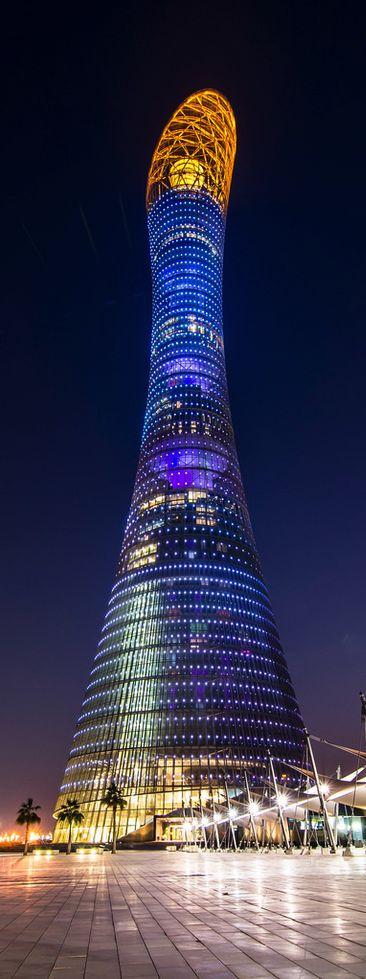 Aspire Tower in Doha, Qatar