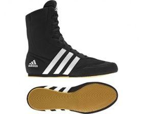 Adidas Box Hog 2 BOYS Boxing boots - Black/White
