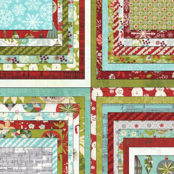 SALE ASPEN FROST by Basic Grey for Moda Christmas by FabricSweets