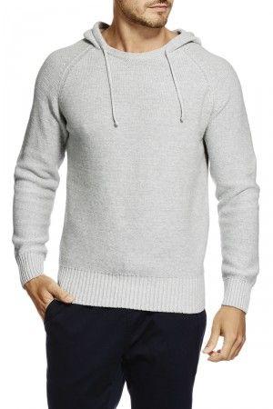 Bonds Knit Hoodie New Grey Marle AZS3I NWY