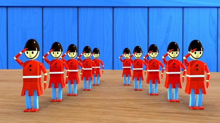 Grand Old Duke Of York - Still from video by #HuggyBoBo  Watch on YouTube https://youtu.be/Wg5CvLWktUc