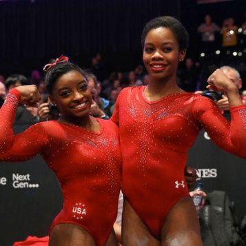 #BLACKGIRLMAGIC: Gymnasts Simone Biles & Gabrielle Douglas Make HISTORY At World Championships!