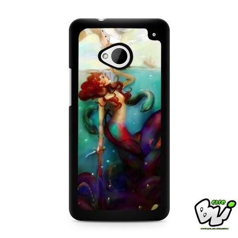 Ariel The Little Mermaid HTC G21,HTC ONE X,HTC ONE S,HTC M7,M8,M8 Mini,M9,M9 Plus,HTC Desire Case