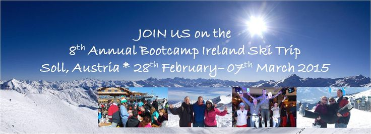 Join us on the Bootcamp Ireland Ski Trip 2015