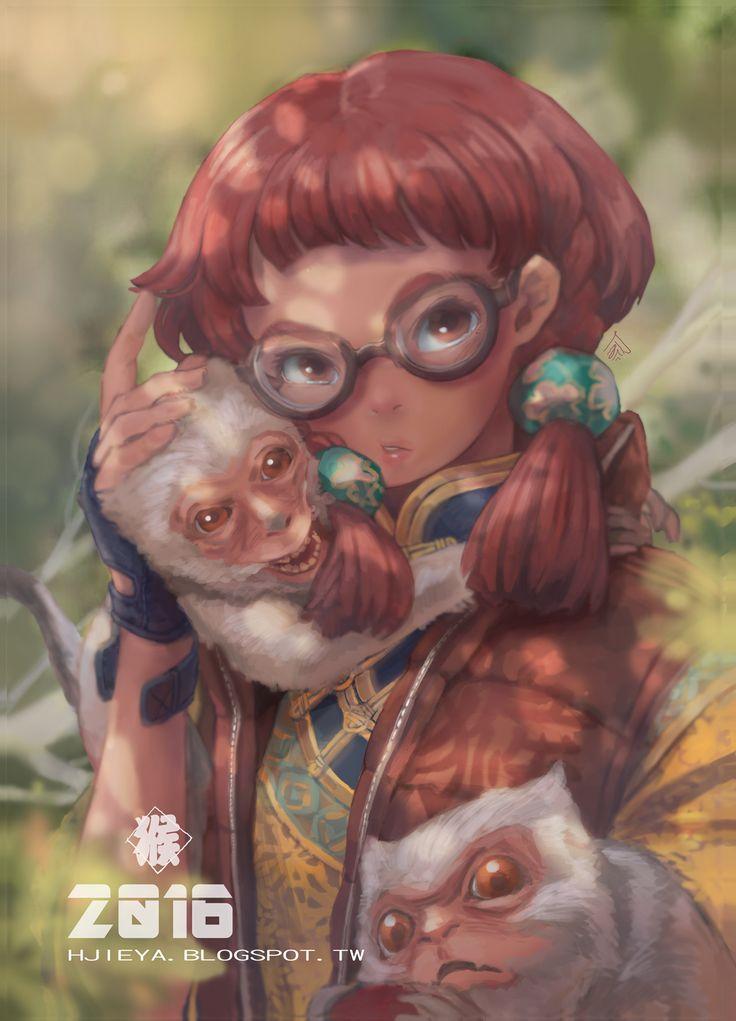 2016 猴年賀卡