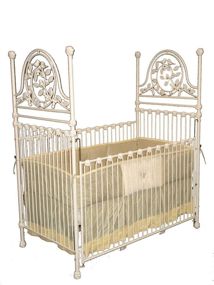 Mejores 50 imágenes de Iron Baby Cribs en Pinterest | Cunas de bebé ...