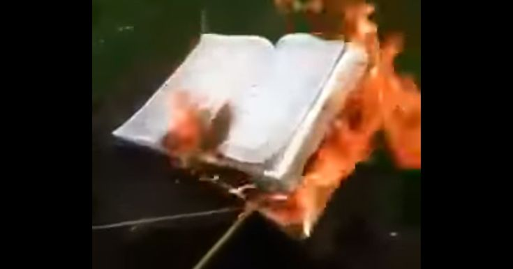 "Video of a Persian woman burning Koran has become viral in social media. This woman explains that the Arabs brought Islam to Persia and forced it on the Persian people. She claims that anyone who defines himself as Persian in Iran should burn this book. She explains, ""by war and force the Arabs brought this book on our heads, we must burn it. We Iranians must send Islam back to where it belongs, to the Arabs. We Iranians must burn this book"". She did it as an act of protest against ..."