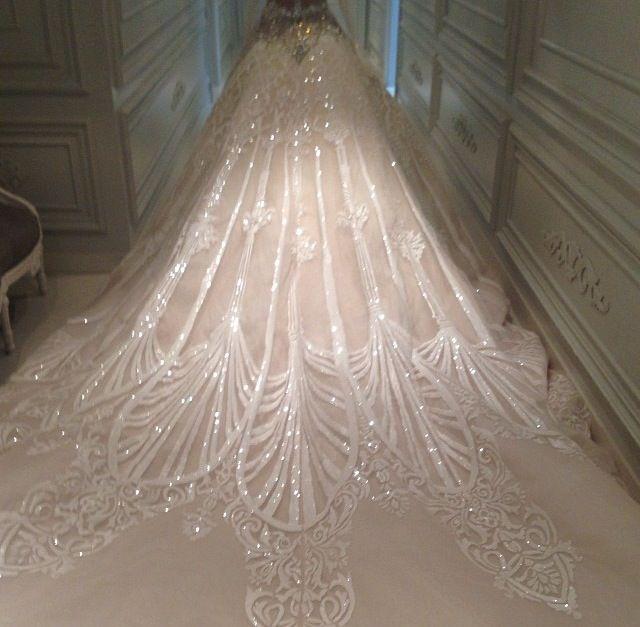 White peacock dress - photo#51