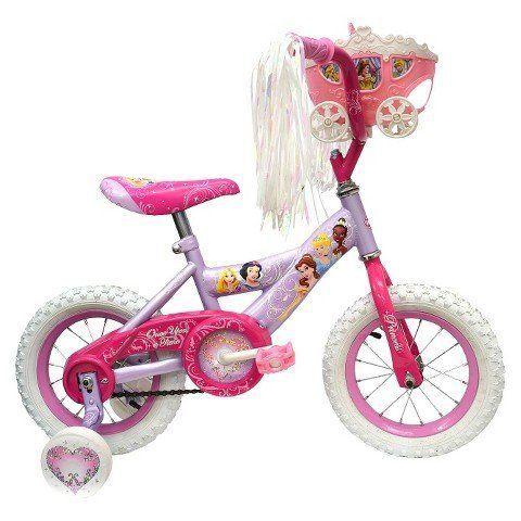 "Huffy Disney Princess Bike 12"" - Pink/Purple Huffy"