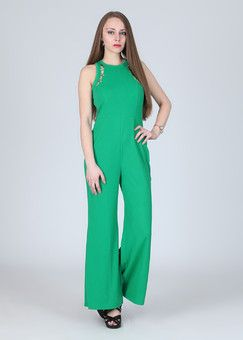 AND Solid Women's Jumpsuit: Jumpsuit