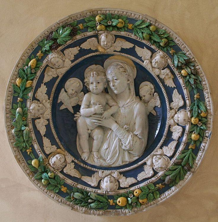 Andrea della Robbia: Madonna and Child