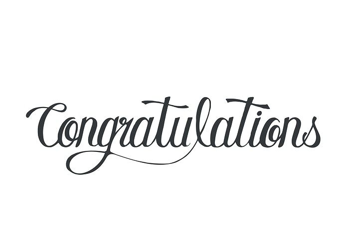 39++ Congratulations font style free download inspirations