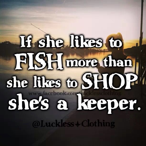 Girls Fishing Quotes