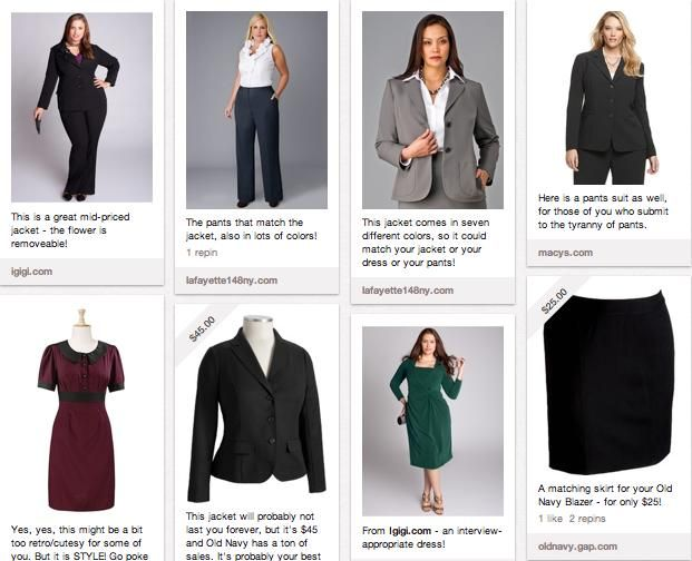 Best stores for interview clothes