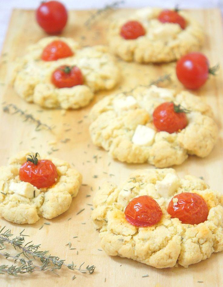 Home made cookies cookies salés pour l'apéro recette : http://happyfoodblog.fr/cookies-a-la-grecque-2/