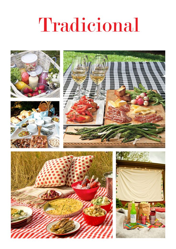Ideas románticas: picnic al aire libre | cocktaildemariposas