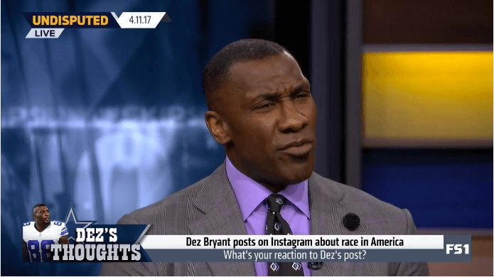 After Dallas Cowboys wide receiver Dez Bryant put the responsibility of overcoming racism solely in the hands of Black Americans, Shannon Sharpe delivered