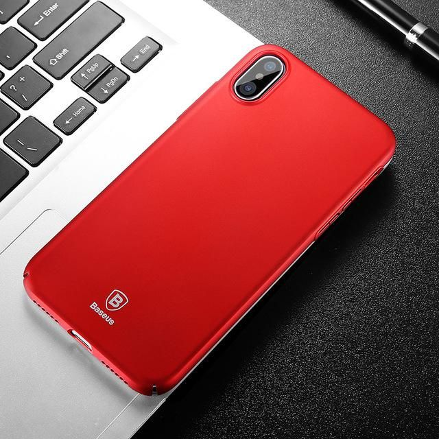 BASEUS brand Ultra Slim Mobile Phone Case for iPhone X