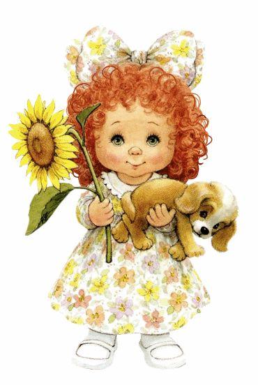 Image detail for -Ruth Morehead e suas lindas crianças | Imagens para Decoupage