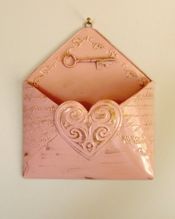 Metal Envelope Wall Decor : Best images about tin wall pockets on metal
