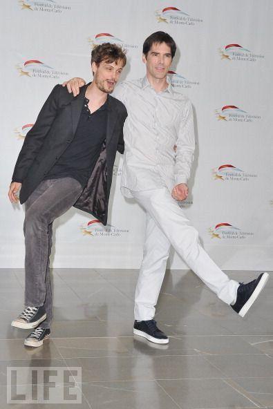 Thomas Gibson and Matthew Gray Gubler