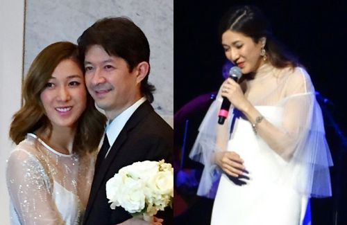 Linda Chung admits that she has been married since fall 2015. Her husband is a chiropractor in Canada. The couple will hold their wedding banquet on February 27 in Vancouver.