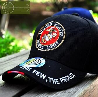 [Visit to Buy] Band of Brothers The Few The Proud Marine Corps Baseball Cap Cotton Outdoor Adjustable Snapback Gorras Hip Hop Men Women Sun Hat #Advertisement